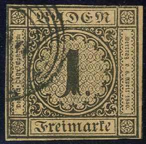 Lot 9 - altdeutschland baden  -  Karl Pfankuch & Co. auction #222