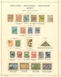 2455: Estland - Sammlungen