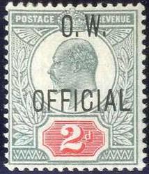 2865: Grossbritannien - Dienstmarken