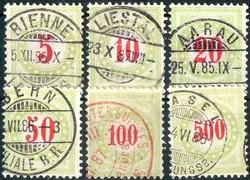5655: Schweiz - Portomarken