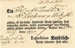 10: Altdeutschland Baden - Vorphilatelie
