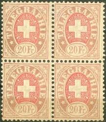 5655: Schweiz - Telegrafenmarken