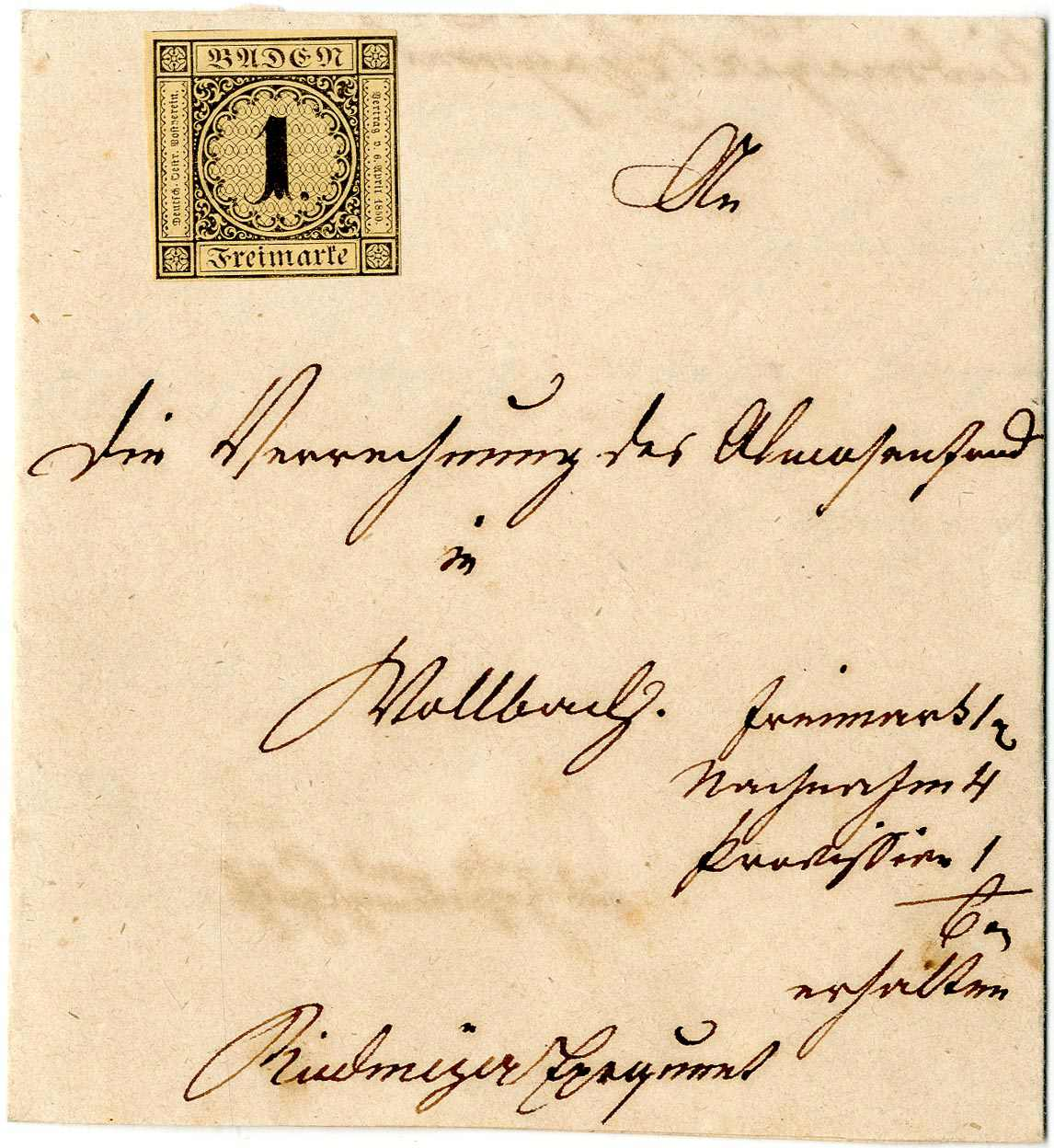 Lot 8 - altdeutschland baden  -  Karl Pfankuch & Co. auction #222