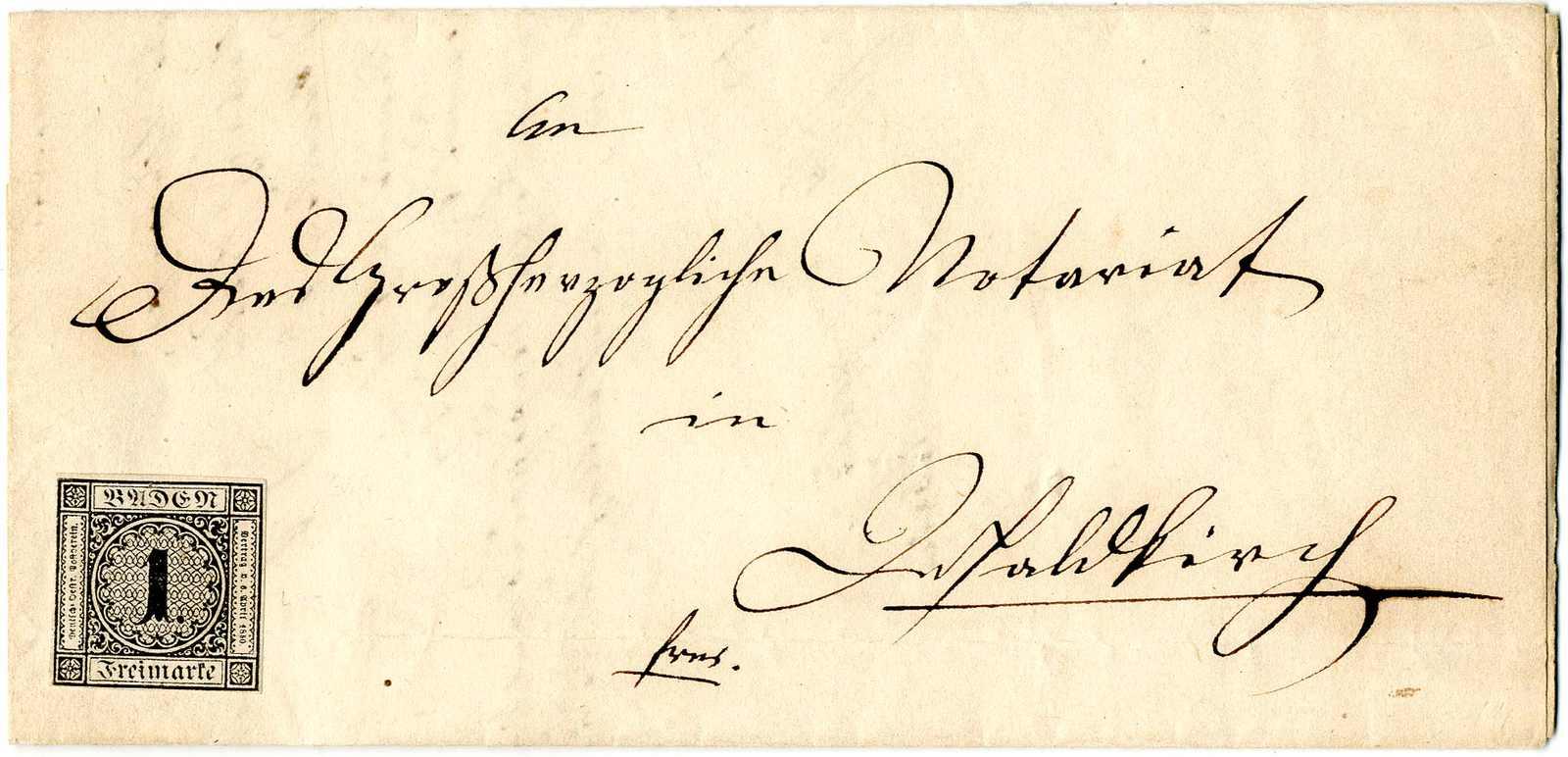 Lot 21 - altdeutschland baden  -  Karl Pfankuch & Co. auction #222