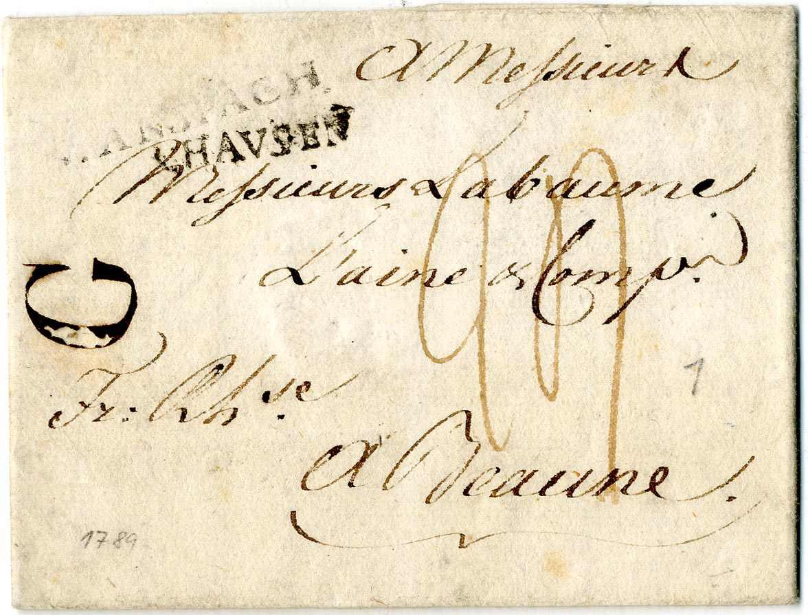 Lot 2 - Altdeutschland Baden, Vorphilatelie  -  Karl Pfankuch & Co. auction #222