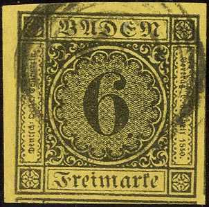 Lot 25 - altdeutschland baden  -  Karl Pfankuch & Co. auction #222