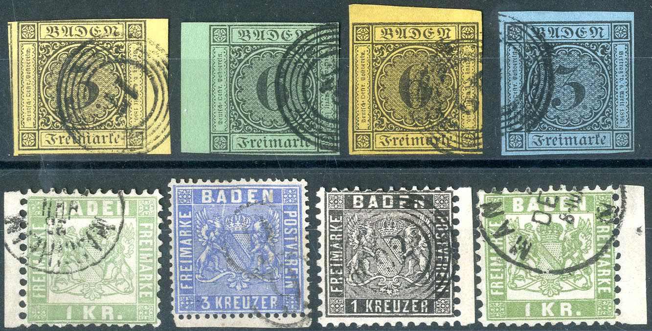 Lot 16 - altdeutschland baden  -  Karl Pfankuch & Co. auction #222