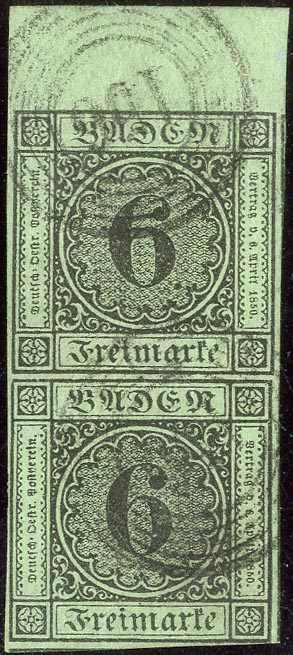 Lot 15 - altdeutschland baden  -  Karl Pfankuch & Co. auction #222