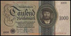 841000: Banknotes non German - Banknotes