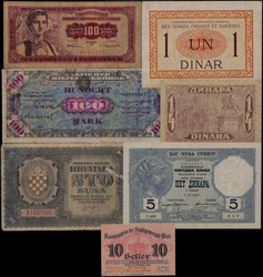 841000: Banknoten Ausland - Banknoten
