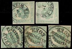 4745082: オーストリア・1867年新聞切手