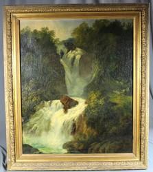 100.50: Gemälde, Aquarelle - 19. Jh.