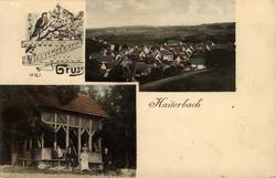 107240: Deutschland West, Plz Gebiet W-72, 724 Horb am Neckar - Postkarten