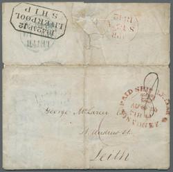 1750: Australien - Vorphilatelie