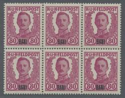 4815: Österreich Feldpost Rumänien - Engros