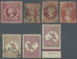 Philasearch com : Stamps Australia Stamps bulk lot