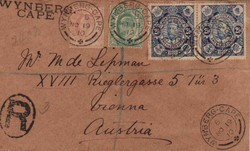 4465: Mosambik Gesellschaft - Briefe Posten
