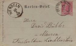 4745315: Austria Cancellations Lower Austria - Postal stationery