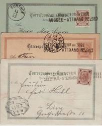 4745320: Österreich Abstempelungen Oberösterreich - Lot