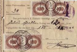 4745330: Österreich Abstempelungen Steiermark - Portomarken
