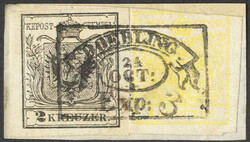 4745305: Austria Cancellations Vienna - Cancellations and seals