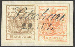 4745315: Austria Cancellations Lower Austria - Cancellations and seals