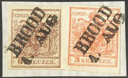 4745370: Austria Cancellations Croatia Slavonia - Cancellations and seals