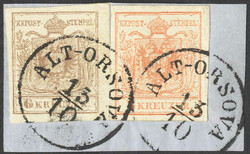 4745420: Austria Cancellations Voivodeship of Serbia - Cancellations and seals
