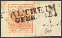 4745320: Österreich Abstempelungen Oberösterreich - Stempel