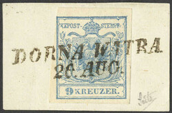 4745350: Austria Cancellations Bohemia - Cancellations and seals