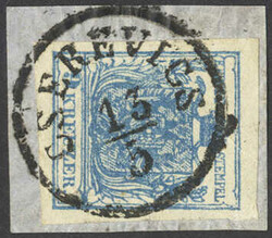 4745405: Austria Cancellations Syrmia - Cancellations and seals