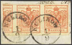 4745360: Austria Cancellations Galicia - Cancellations and seals