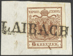 4745365: Austria Cancellations Krain - Cancellations and seals