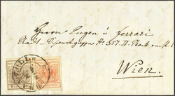 4745335: Austria Cancellations Tyrol - Cancellations and seals