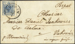 4745410: Austria Cancellations Temese Banat - Cancellations and seals