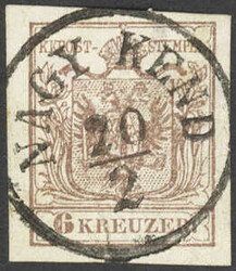 4745395: Austria Cancellations Transylvania - Cancellations and seals