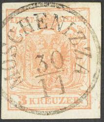 4745375: Österreich Abstempelungen Küstenland - Stempel