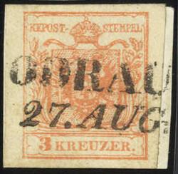 4745400: Österreich Abstempelungen Schlesien - Stempel
