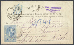 4745082: Austria Newspaper Stamp 1867/80 - Postal stationery