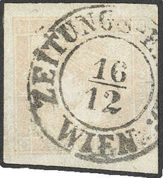4745052: Austria Newspaper Stamps 1851