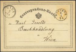 4745360: Österreich Abstempelungen Galizien - Stempel