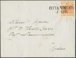 4745355: 奧大利郵戳Dalmatia - Cancellations and seals