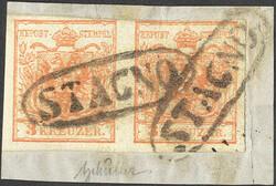 4745355: Austria Cancellations Dalmatia - Collections