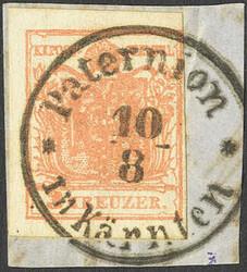 4745310: Austria Cancellations Kaernten - Cancellations and seals