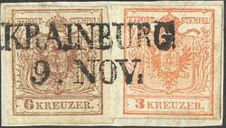 4745365: Austria Cancellations Krain - Cancellations and seals