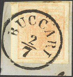 4745370: Austria Cancellations Croatia Slavonia - Cancellations and seals