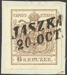 4745370: Österreich Abstempelungen Kroatien Slawonien - Stempel