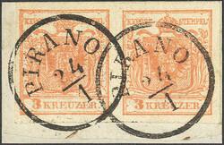 4745375: Austria Cancellations Austrian Littoral - Cancellations and seals