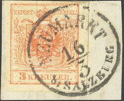 4745325: Austria Cancellations Salzburg - Cancellations and seals