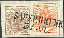 4745330: Austria Cancellations Styria - Cancellations and seals